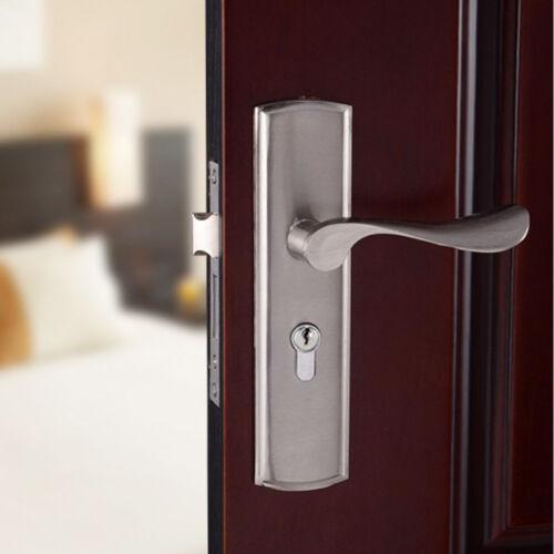 Entry Door Simple Privacy Door Security Entry Lever Mortise Handle Locks Set