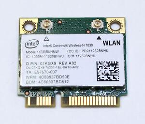 Details about Dell Inspiron 15R N5110 WLAN Wireless Wi-Fi Intel 11230BNHMW  07KGX9 7KGX9 Card