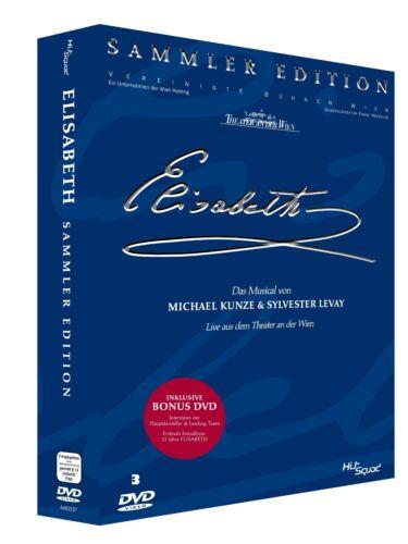 1 von 1 - Elisabeth - Das Musical - SAMMLER EDITION, Live, Theater Wien, 3 DVD NEU + OVP!