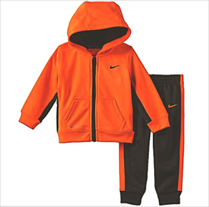 f59a2a58e Nike Baby Boys 2-Piece Therma Dri-Fit Hoodie and Pant Set 24 Months ...
