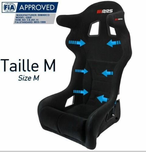 Siège baquet FIA RRS GRIP 2 2019 taille M