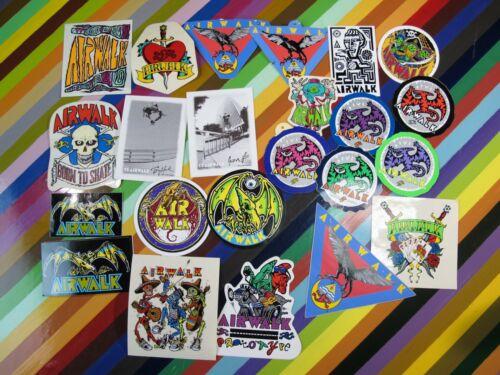 Lee Pterodactyl Hawk vtg 1980s Airwalk skateboard sticker Art graphics