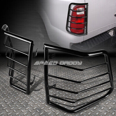 FOR 05-12 FRONTIER D40 BLACK STAINLESS STEEL TAIL//BRAKE LIGHT//LAMP CAGE GUARD
