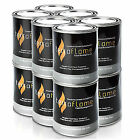 SunJel Fume- Firespace GEL Fuel Canister Pure 12 Pack Firewood Fireplaces