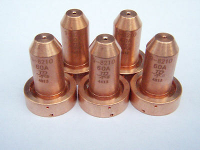 9-8210 Thermal Dynamics GENUINE Plasma Cutter Consumables for SL60//SL100 5pcs