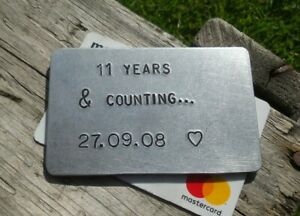 11 Years & Counting 11th Wedding Anniversary Gifts For Men ...