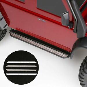 Metall-Nurf-Bar-Side-Step-Checkerplatte-Anti-skid-Plate-Fuer-TRAXXAS-TRX4-TRX-4