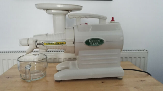 Tribest Twin Gear Green Star Juicer GS 1000, used for pick up in Barry Vale of G