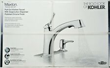 Kohler Maxton R30124 Sd Cp Pull Out Kitchen Faucet In Chrome C02 For Sale Online Ebay