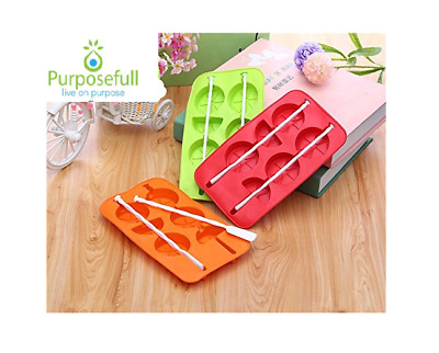 Silicone Ice Tray Easy Cube Pop Up Mold Jelly  Mould Party Funny Shape Lolly Cup