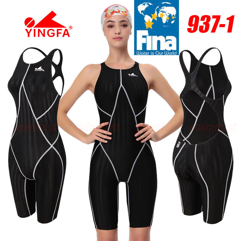 FINA APPROVED NWT YINGFA 937-1 COMPETITION TRAINING KNEESKIN L US MISS 4-6 Sz 30