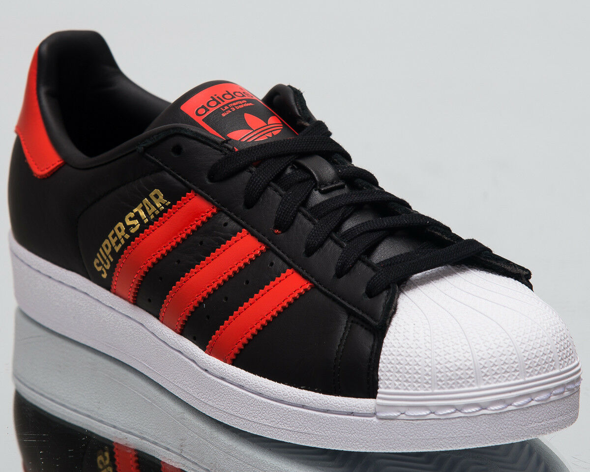 Adidas superstar di scarpe nere originali uomini audaci arancia scarpe b41994   Materiali Selezionati Con Cura    Uomo/Donne Scarpa