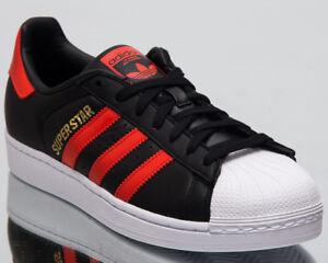 2de4a2387d2d43 Image is loading adidas-Originals-Superstar-Men-Lifestyle-Shoes-Black-Bold-