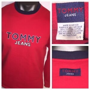 a52bf2a2 Image is loading ICONIC-TOMMY-JEANS-Hilfiger-BIG-SPELLOUT-amp-TOMMY-