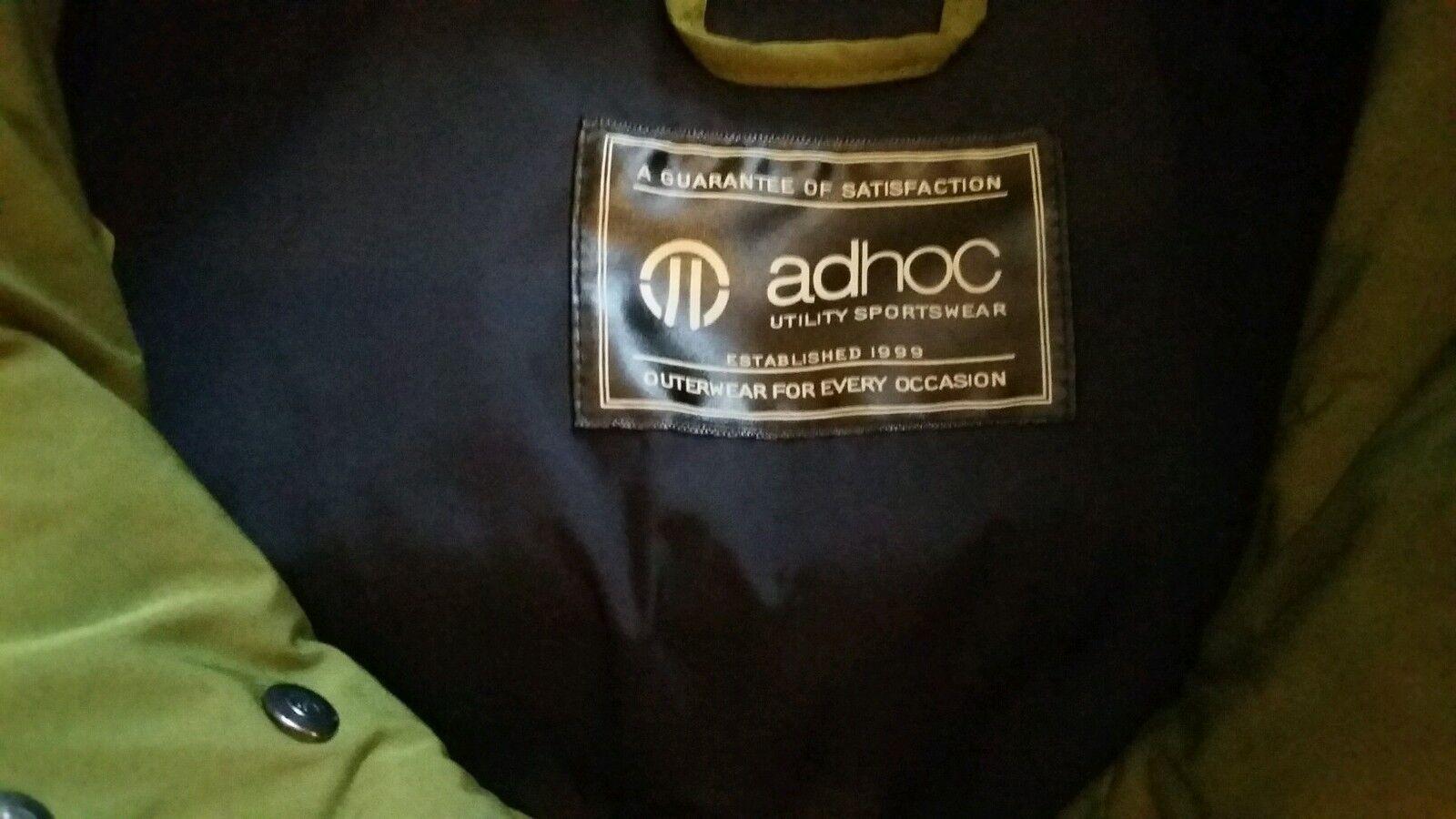 AdHoc utilitaire - Sportswear Veste Vert Taille M RRP - utilitaire £ 175 9ca3f6