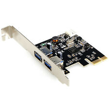 DYNAMODE USB 3.0 PCI-E Adapter Card with Low Profile Bracket, 2-Port