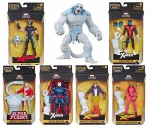 Marvel-Legends-X-Force-Wave-1-Set-of-6-Action-Figure-6-Inch-Wendigo-BAF