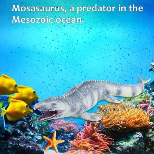 45CM realista dinosaurio Mosasaurus animal modelo figura jugueteVN