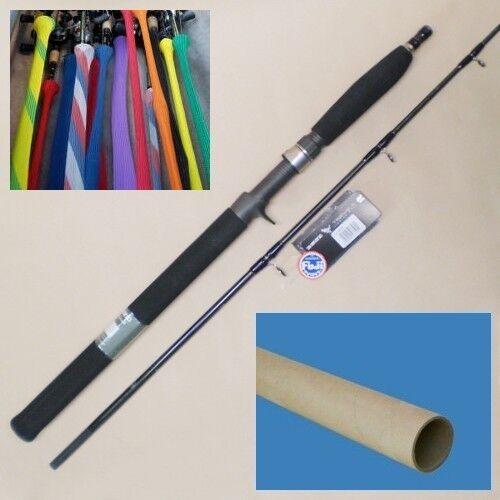 """Shimano Trevala 6' 6"""" Jigging Casting Fishing 2pc Rod Medium Model TVC66M2"""