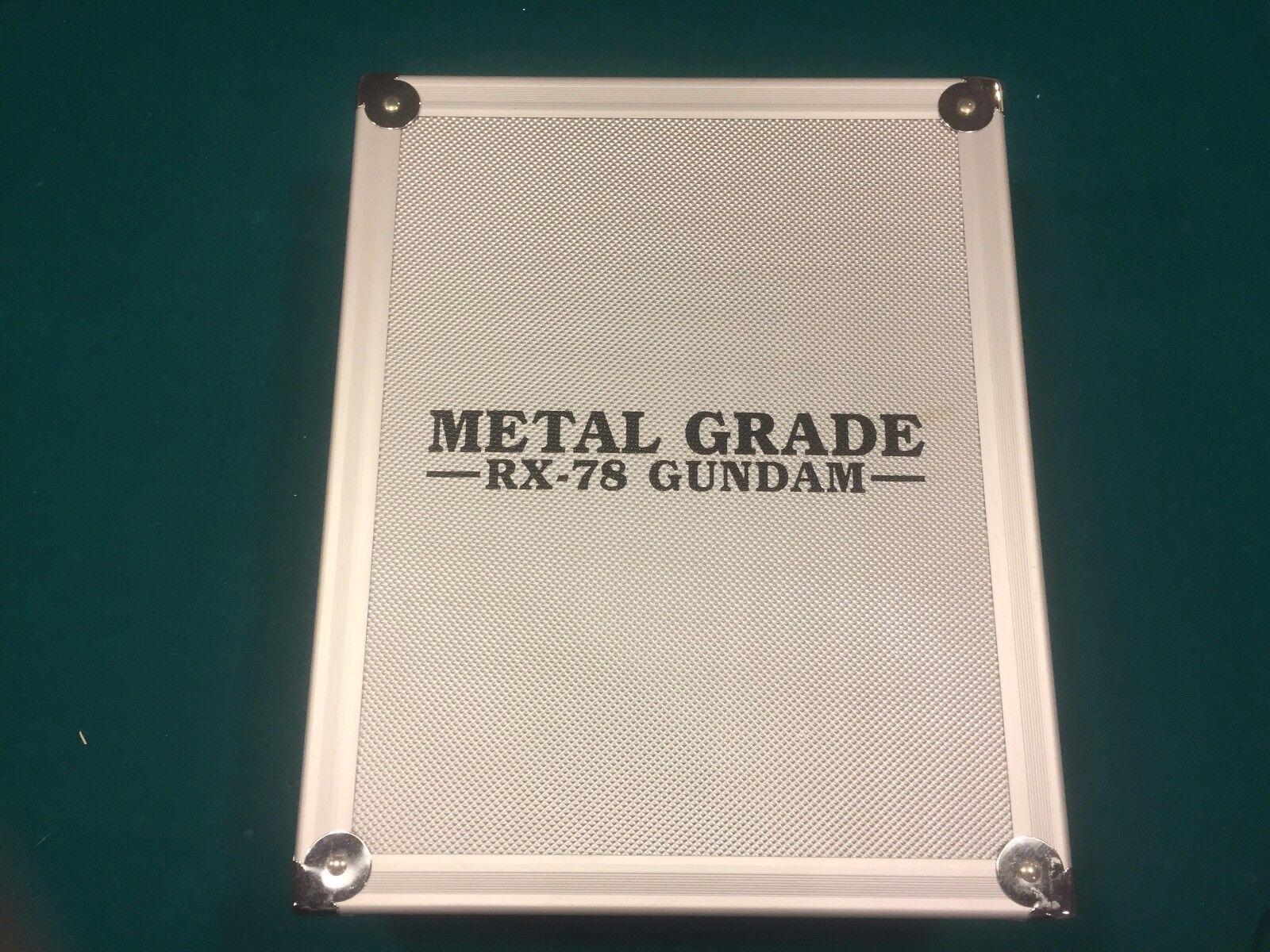 Rare Metal Grade RX-78 Gundam Bandai - Used - Minor Damage & Missing Parts