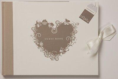 Wedding Day Guest Book Lovely Keepsake - Wedding Day Gift Idea