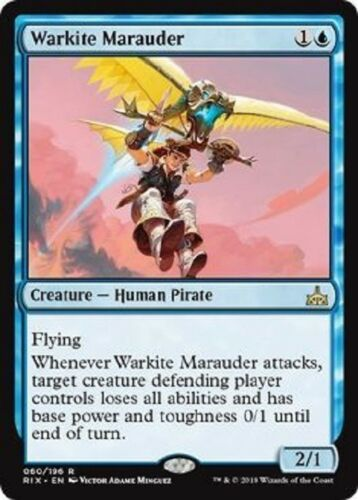 Warkite Marauder RARE Rivals of Ixalan MTG Magic The Gathering