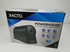 X Acto Powerhouse Electric Pencil Sharpener Black 1799 New In Box