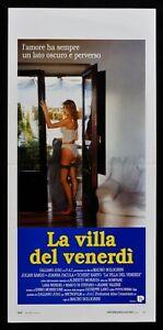 Plakat Die Villa Der Freitag 'Mauro Bolognini Mähren Pacula N78