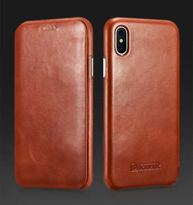 iphone xr thin leather case