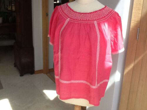 With Tag Blouse Part Rrp £99 95 New Size Linen Hoshi Two 12 IWHED29Y