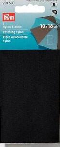 Prym Nylon Flicken  selbstklebend schwarz 929500