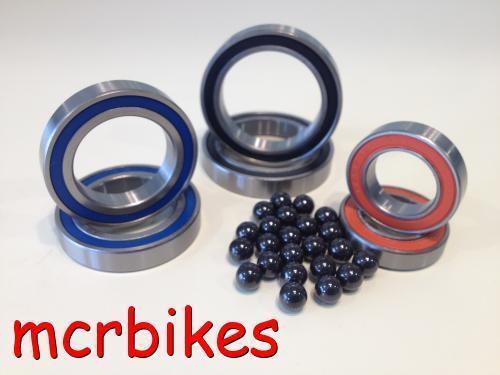 SRAM X9 Front Rear Wheel Hub Bearing Kits Chrome //Stainless //Ceramic
