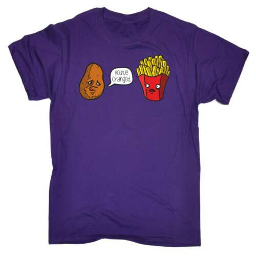 Funny Mens T Shirts YouÆve Changed Fast Food T-SHIRT Birthday Novelty