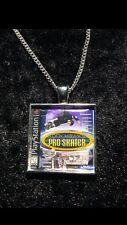 Retro Gaming Necklace And Keyring Playstation PS1 Tony Hawks Pro Skater THPS