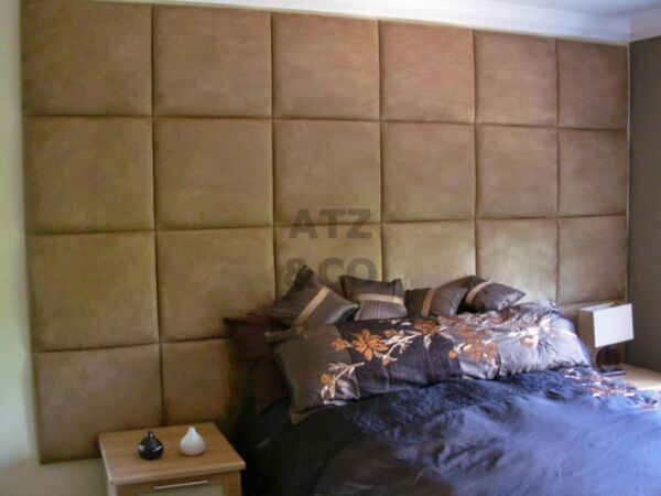 RIO CHENILLE HEADBOARD UPHOLSTERED WALL PANEL VARIOUS COLOURS AVAILABLE
