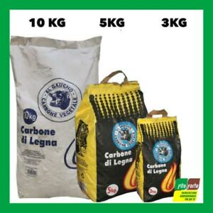 CARBONE CARBONELLA LEGNO VEGETALE 3 kg BARBECUE GRIGLIA