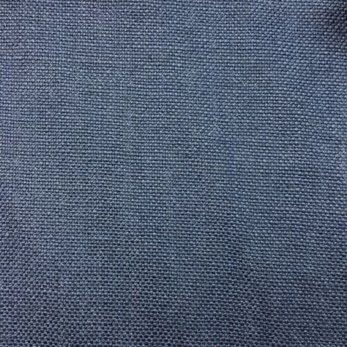 100/% BELGIAN LINEN UPHOLSTERY FABRIC CHALET INDIGO BY THE YARD