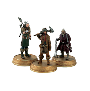 Hobbit Lord of the Rings Company of Dwarves Figurine Set Figure Eaglemoss