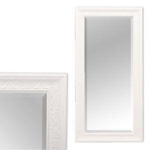 wandspiegel fiora barock pomp s spiegel 100x50cm wei silber design holzrahmen ebay. Black Bedroom Furniture Sets. Home Design Ideas