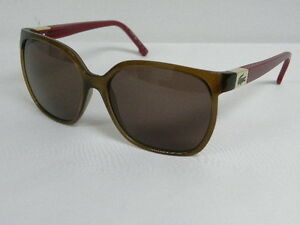 c1520f5b9aa Image is loading Lacoste-L508S-213-Brown-Red-Butterfly-Sunglasses-L-