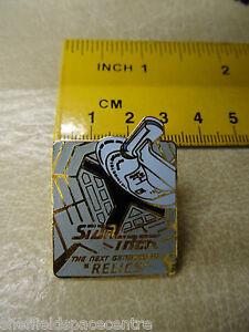Star Trek Next Generation Relics Series Episode Pin Badge STPIN8902