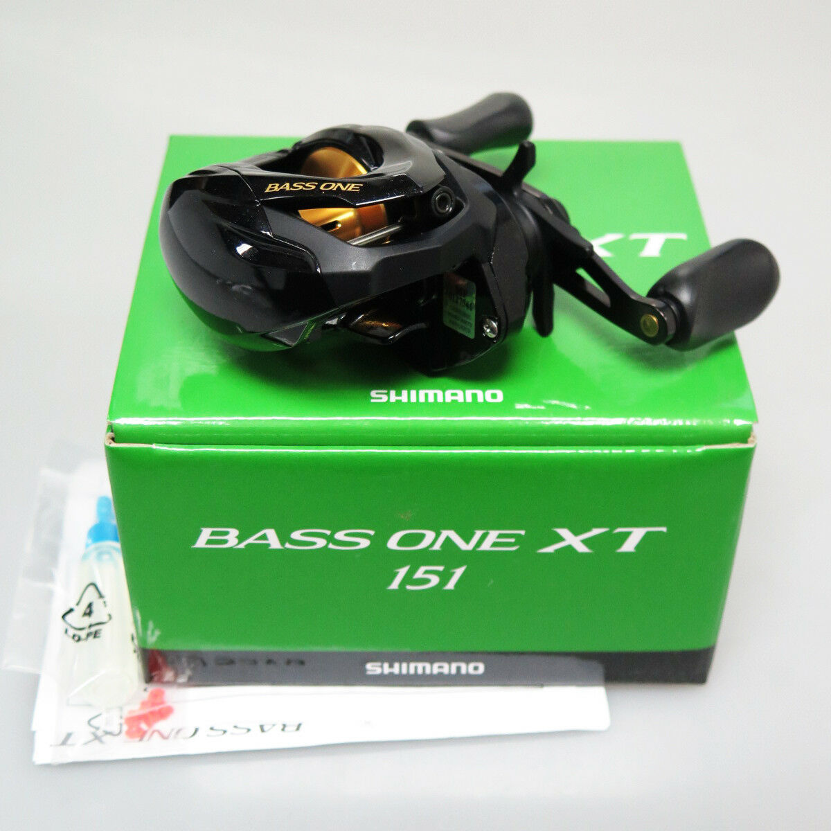 SHIMANO Bass One XT 151 Left BaitCasting Reel Fedex Priority 2day to Usa