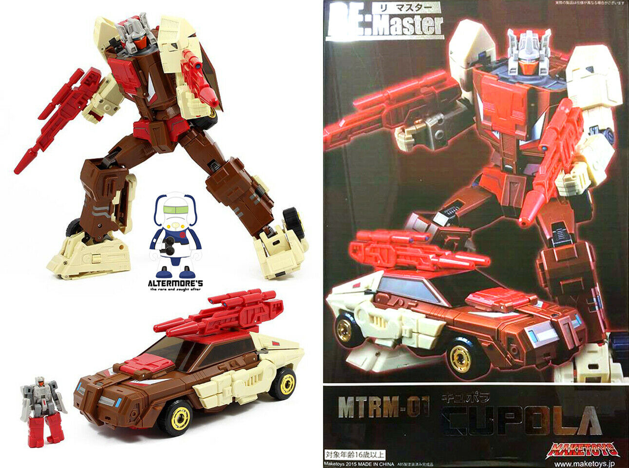 Transformers Masterpiece maketoys mtrm - 01 coupole Également appelé MP chromedome DGSIM