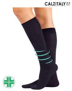 scarpe classiche Cheaper tra qualche giorno Calze Medicali in Cotone a Compressione Media, Gambaletti ...