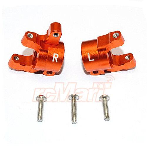 GPM Aluminum Alloy Front C-Hub Set Orange For Axial SCX10 RC Crawler #SCX019-OR