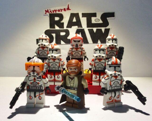 Trooper Boil  Head Lego Star Wars minifigures Clone Custom Troopers