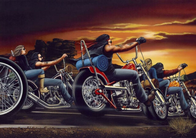 Art Print Poster Canvas David Mann Ghost Rider 9