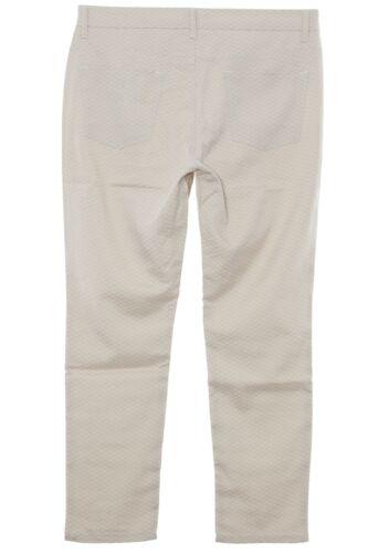 Fit Deux Faune X Slim Pantalons Pants Size Stretch femmes Jeans Plus Red 017x7n4