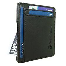 Mens RFID Blocking Slim Wallet Front Pocket Minimalist Secure Credit Card Holder