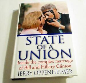 State of a Union President Bill Hillary Clinton HC/DJ 1st Ed ISBN:0060193921